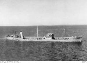 MV 'Havfru' (photo courtesy Australian War Memorial)