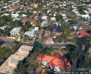 Google view of Coorparoo