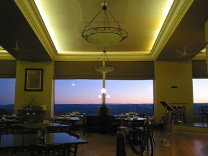 Hydro Majestic Hotel – view from the dining room