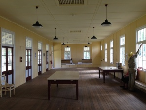 Interior Rec hall, Peel Island Lazaret