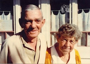 Harry and Jessie Wadsworth in 1978