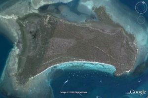 A Google Earth Image of Peel Island