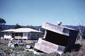 Signalman's house and wartime searchlight pillbox Cowan Cowan (photo courtesy Kevin Mohr)