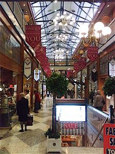 The Brisbane Arcade, Queen Street (photo courtesy Laserforce)