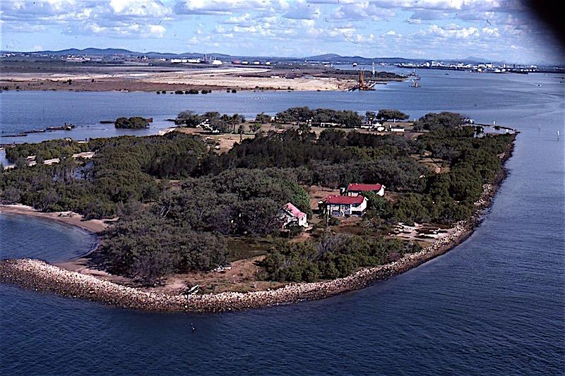 History Of Mud Island Moreton Bay