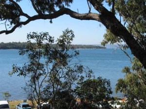 Coochiemudlo Island as seen from Victoria Point
