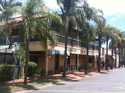 Moreton Bay Mysteries -1- The Grand View Hotel's 'lost'cellar