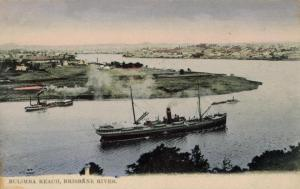 Old postcard from Bulimba