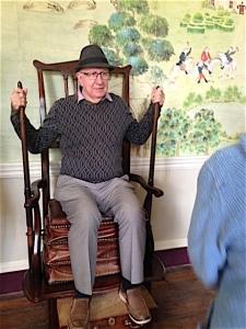 Avebury Manor - exercise chair