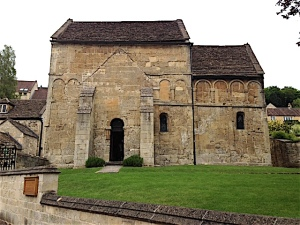 Bradford on Avon - Saxon Church