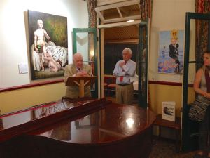 Peter Batey's opening speech to the Bald Archy showing at the Grand View Hotel