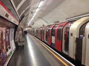 Tube station on London's Underground