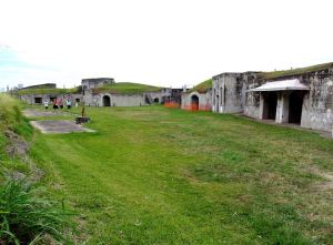 The remnants of Fort Lytton in 2008 (Photo courtesy Karen Ludlow)