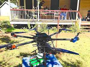 Drone at the Lazaret, Peel Island