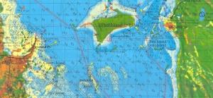 Peel Island map