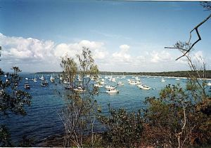 Peel Island today - a popular boaties' destination once again