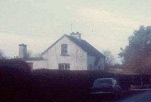 The Vaughan's house at Dromagh, Co Cork, Ireland