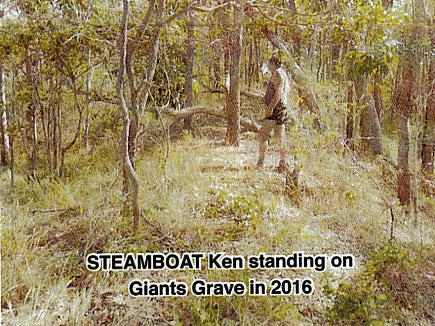 Stories from Russell Island – 1 – The Giant'sGrave