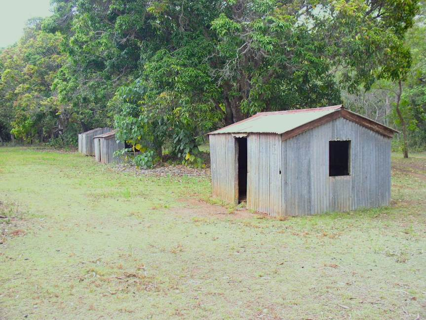 Peel Island – Coloured Leprosy Patients'Huts